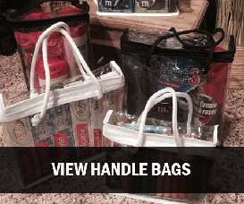 Clear Vinyl Packaging Bags with Handles