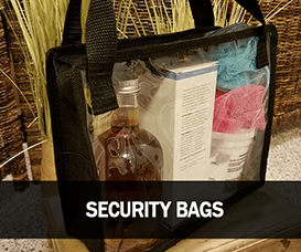 Clear Vinyl Warehouse and Stadium Security Bags
