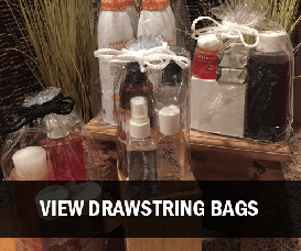 Clear Vinyl Drawstring Bags Wholesale